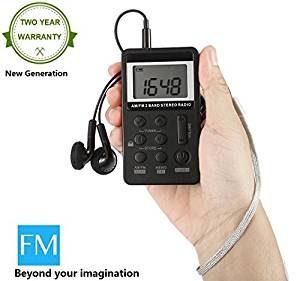 radios pequeñas digitales