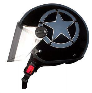 sistema de sujeción casco de moto
